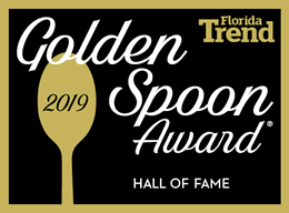 Florida Trend's Golden Spoon Hall of Fame Logo